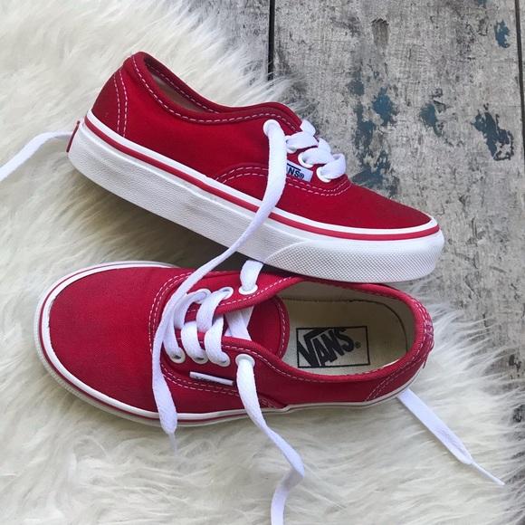 vans red shoes sale